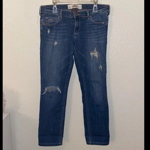 Holister skinny ankle Jeans